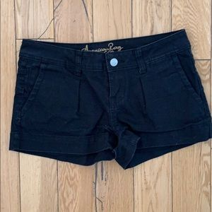 American Rag Black Denim Shorts